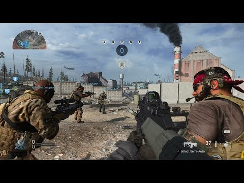 Call of Duty Modern Warfare: Ground War Gameplay (No Commentary) - Видео онлайн
