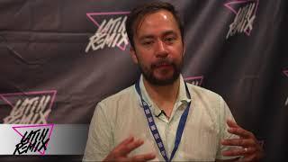 LatinRemix.net  -  DJ Raff habla sobre Tiro de Gracia y el disco Ser Humano ( LAMC 2018 )