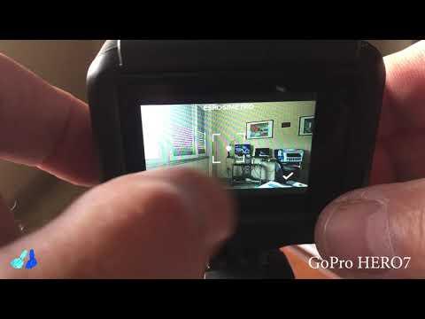 GoPro Hero7 black - how to set the exposure lock