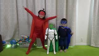パジャマスクごっこ PJ Masks
