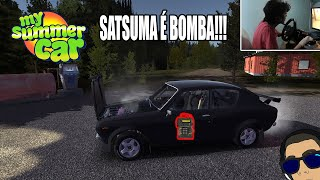 My Summer Car#149 - SATSUMA É BOMBA!!! 3 defeitos 1 vídeo!! {G29 CAM}