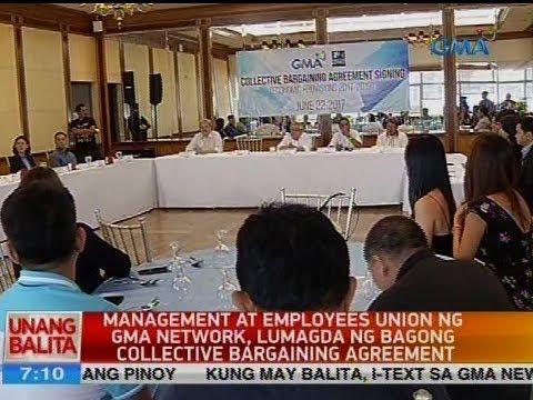 UB: Management at employees union ng GMA Network, lumagda ng bagong collective bargaining agreement