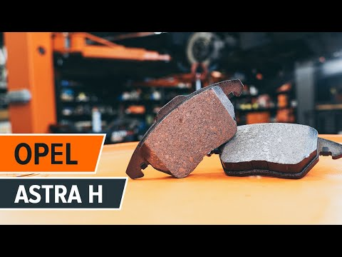 How to change a rear brake pads OPEL ASTRA H TUTORIAL | AUTODOC