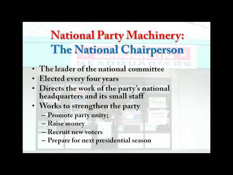 5.5 Textbook Lecture- Party Organization