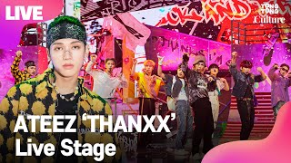 Download lagu [LIVE] ATEEZ 'THANXX' 에이티즈 '땡스' Showcase Stage 쇼케이스 무대 (홍중,성화,윤호,여상,산,민기,우영,종호) [통통TV]
