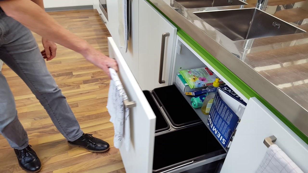 Moderne Kücheninsel in weiß Modell 2018 - YouTube
