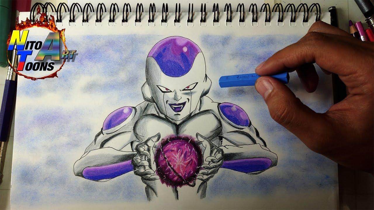 Como Dibujo a Freezer el Emperador del Mal  How to Draw Frieza