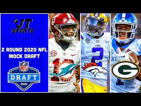 2 Round 2020 NFL Mock Draft   NFL Mock Draft   2020 NFL Draft