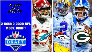 2 Round 2020 NFL Mock Draft | NFL Mock Draft | 2020 NFL Draft