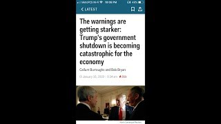 The Govt. Shutdown Is Becoming Catastrophic For The Us Economy