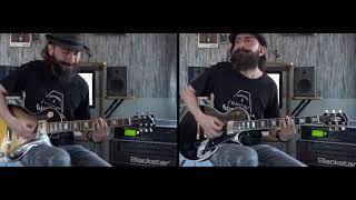 michael jackson beat it guitar performence by cesar huesca