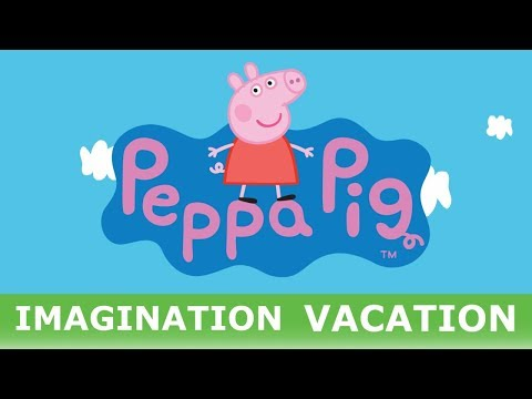 Peppa Pig - Goes To Australia On An Imagination Vacation Daddy Pig Learning Videos Paw Patrol Kids