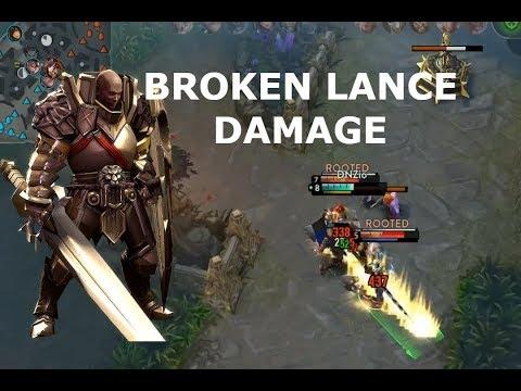 BROKEN LANCE DAMAGE! Vainglory 5v5