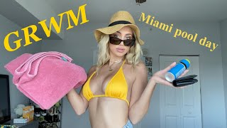 Get Ready With Me   pool day photoshoot    INH WAVER REVIEW