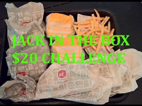 Jack in the Box $20 Value Menu Challenge!