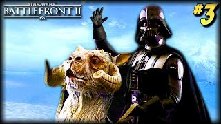 Star Wars Battlefront 2 - Funny Moments #3 (Tauntaun Fails!)