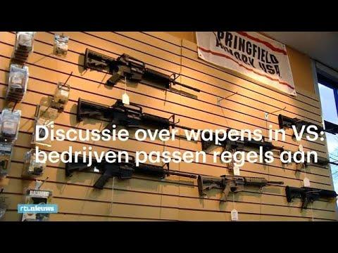Discussie over wapens in VS in volle gang: bedrijven passen zelf regels aan  - RTL NIEUWS