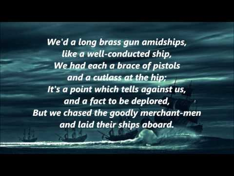 A Ballad Of John Silver by John Masefield words lyrics best top popular sing along song songs