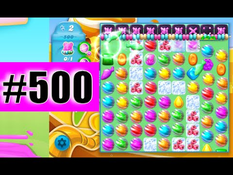 Super Sublime Coloring Candy On Level 500 | Candy Crush ...