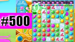 Super Sublime Coloring Candy On Level 500   Candy Crush Soda