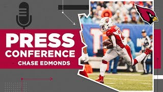 "Chase Edmonds: ""I'm just trying to make a name for myself in this league."" 