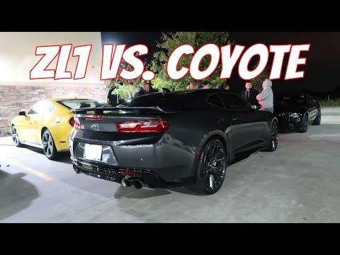 2019 Camaro ZL1 vs. Bolt On 2014 Mustang GT