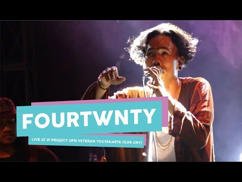 [HD] Fourtwnty - Diskusi Senja (live at IF PROJECT, GOR UNY, September 2017)
