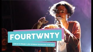 [HD] Fourtwnty - Diskusi Senja (live at IF PROJECT, GOR UNY, September 2017)