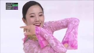 【フィギュアスケート】本田真凛、フランス大会 フリー演技!