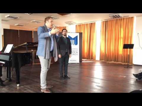 Societatea Muzicala - Lucas Meachem Masterclass - Live @ UNMB (21.04.2017)