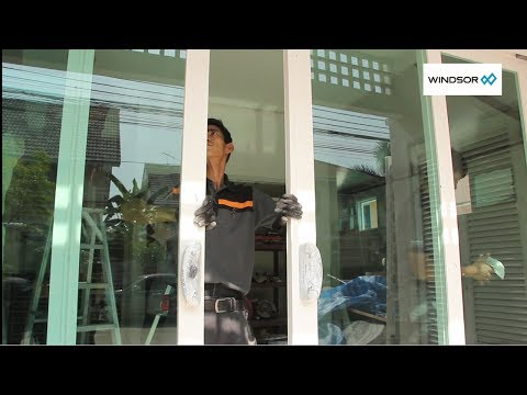 ช่างโอ๋ พาดูหน้างานติดตั้งประตูหน้าต่าง WINDSOR รุ่น SMART (บ้านต่อเติม)
