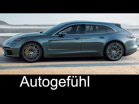 Porsche Panamera Sport Turismo Preview Exterior/Interior new Estate/Kombi/Shooting Brake
