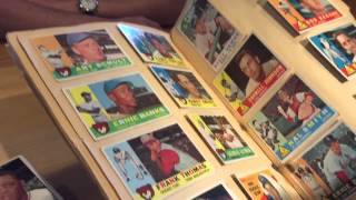 Watch as I buy 1950's-60's Baseball Cards