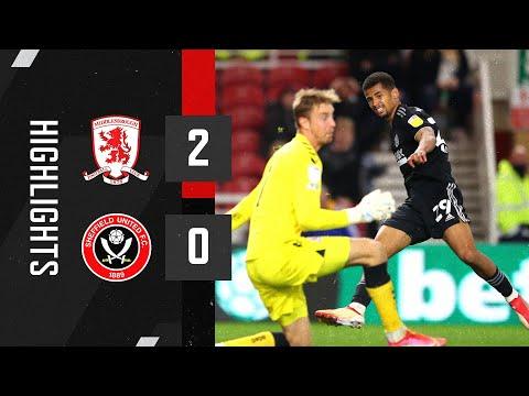 Middlesbrough Sheffield Utd Goals And Highlights