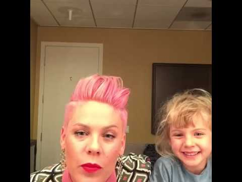 P!nk - Live On Facebook