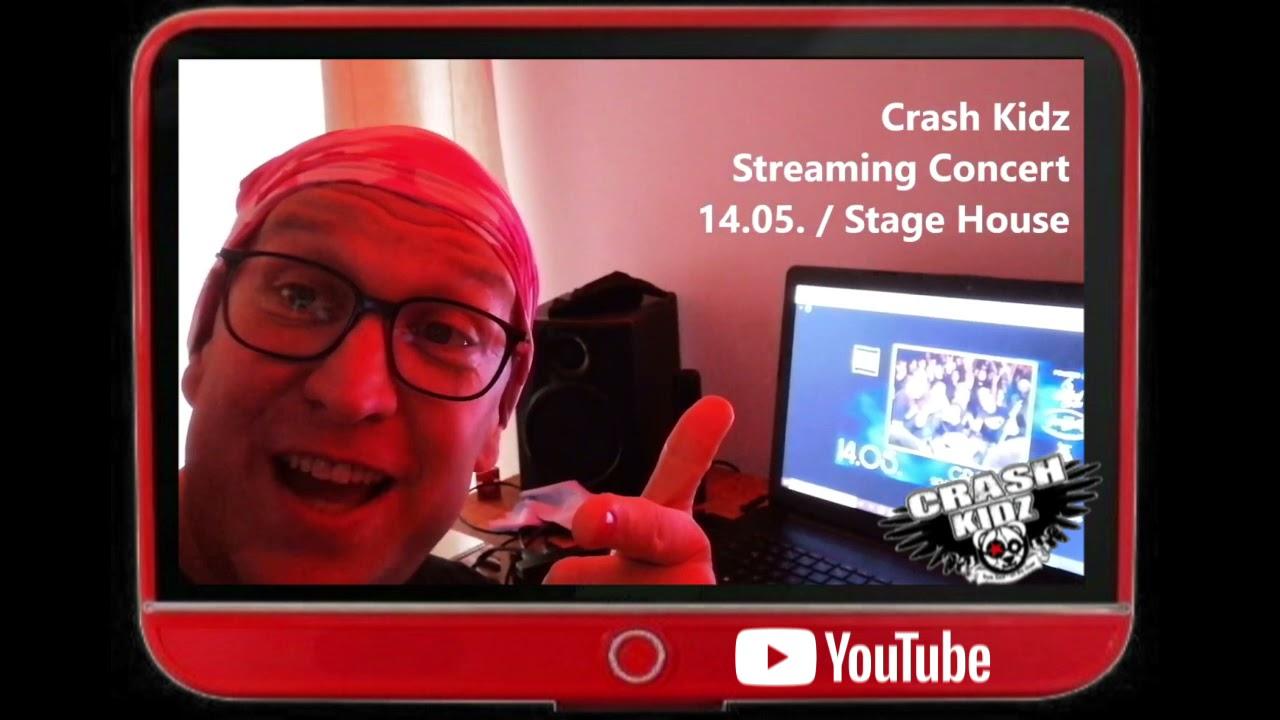 the CRASH KIDZ @ StageHouse - Streaming Show