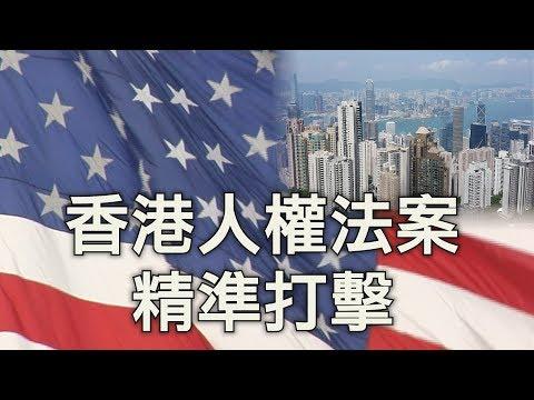 美国国会复会:《香港人权与民主法案》制衡中共武器升级,谁毁香港,我灭谁(江峰漫谈20190909第37期)