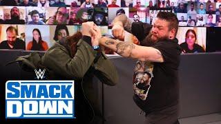 Kevin Owens gets painful payback on Sami Zayn: SmackDown, April 9, 2021