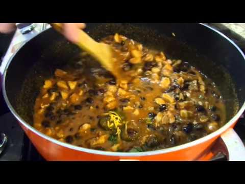 Chicken,  Rice And Beans Enchiladas