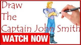 How To Draw The Captain John Smith - Learn To Draw - Art Space