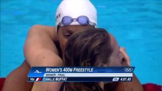 Hommage à Camille Muffat, grande championne de la natation française