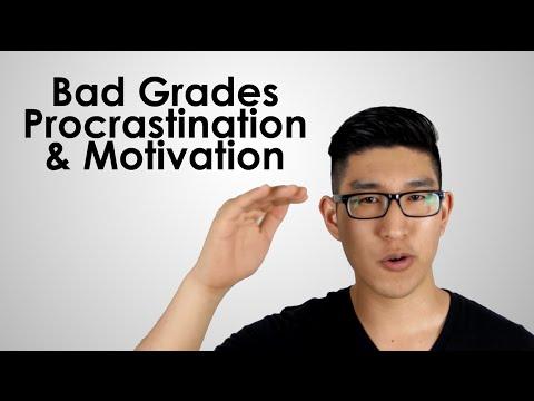 High School Advice: Bad Grades, Procrastination & Motivation
