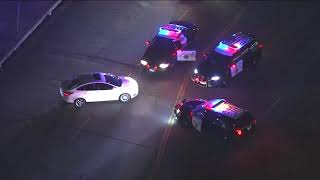 Police Pursuit Ends With Crash And Dance Routine