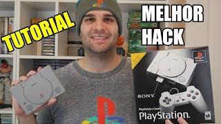 Tutorial e Teste Do Melhor Hack Do Playstation Classic Para Adicionar Mais Jogos o Auto Bleem
