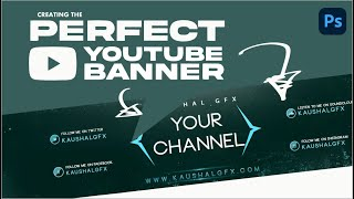 Best Top New YouTube Gaming Channel Art PSD | Kaushal Gfx | Photoshop Pro Tutorial #15