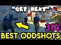 5 vs 300 IQ SNEAKY GUY *WTF* - CS:GO BEST ODDSHOTS #314
