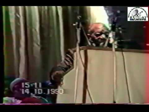 Culte au Salon Hoche, Paris le 14 octobre 1990