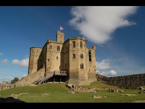 Visiting Warkworth Castle