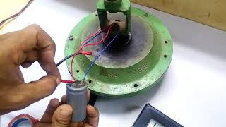 how to connect a capacitor with ceiling fan