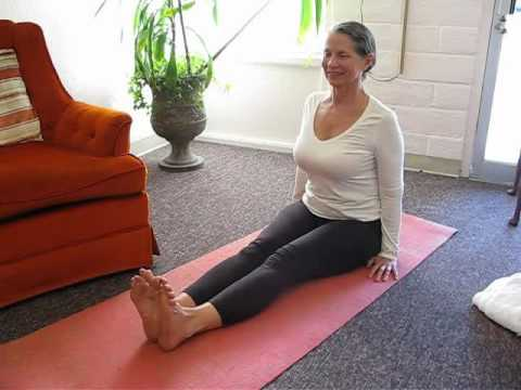 beginning and ending yoga poses  seated staff pose and
